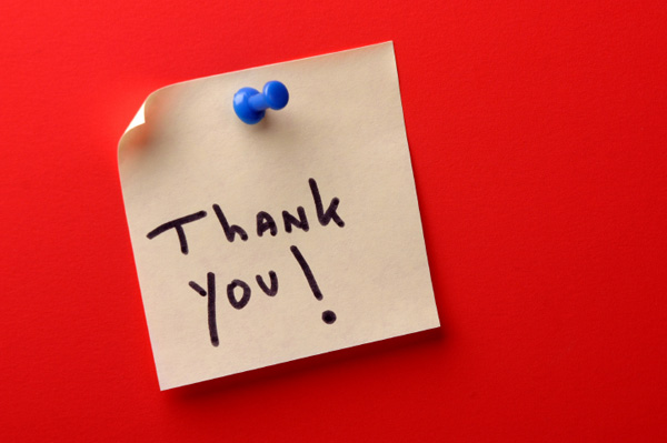 Thank You Post-it