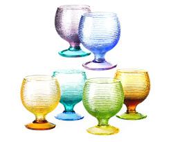 Multicolor goblets