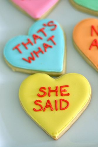 that's what she said cookies