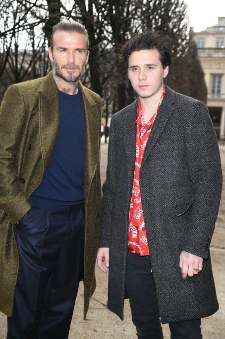 David Beckham and Brooklyn Beckham January 2018.jpg