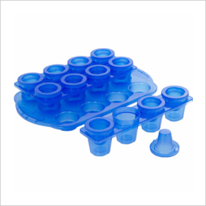 Shot glass ice cubes