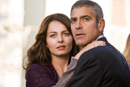 George Clooney stars in The American