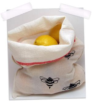 The Bee Bag Reusable Produce Bag