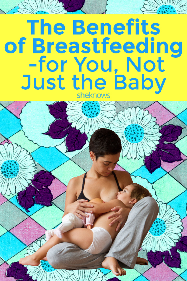 The benefits of breastfeeding for moms