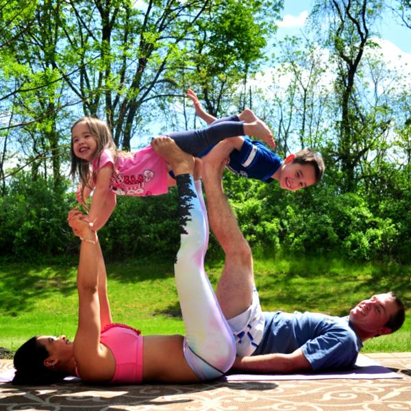 Yoga Poses For Kids 3 People Abc News