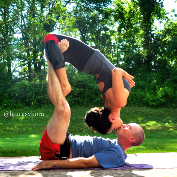 The Benefits Of Partner Yoga Poses Sheknows