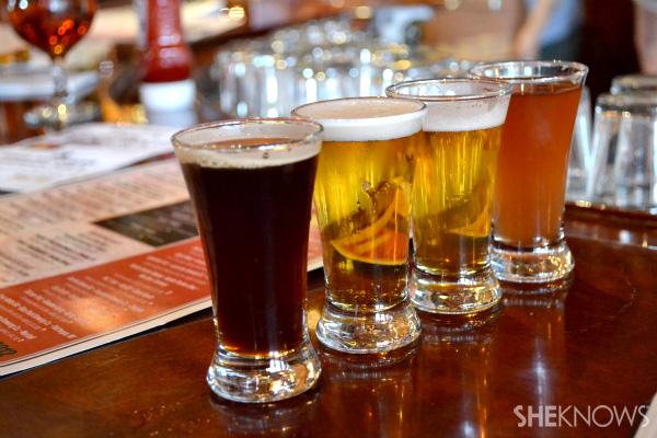 Beer at pub