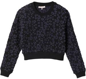 Rebecca Taylor Leopard Pullover Sweater$350