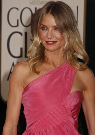 Cameron Diaz at 2009 the Golden Globes