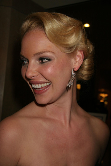 Katherine Heigl at the 2007 Golden Globes