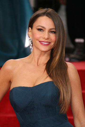 Sofia Vergara at the Golden Globes