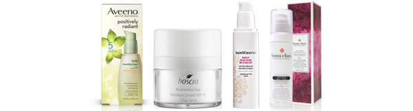 Combination skin moisturizers for winter