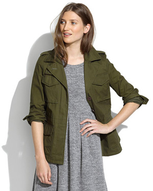 Madewell All-Weather Outband Jacket$158