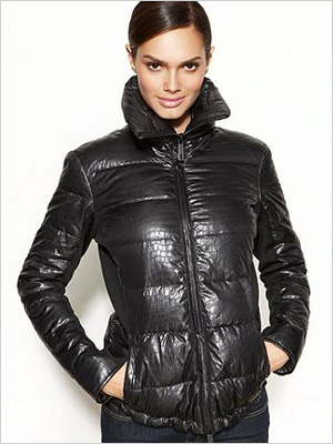 Kenneth Cole Reaction Printed Quilted Puffer (Macy's, $110)