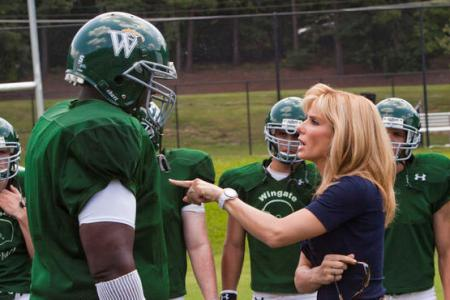 Blind Side stars Sandra Bullock as a mom raising a homeless teen