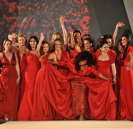 Red Dress Collection 2012 Fashion Show