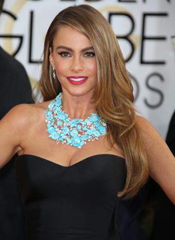 Sofia Vergara at the 2014 Golden Globes