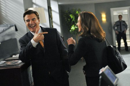 Chris Noth and Julianna Marguilies in The Good Wife