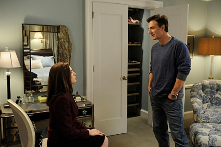 Chris Noth and Julianna Margulies in The Good Wife