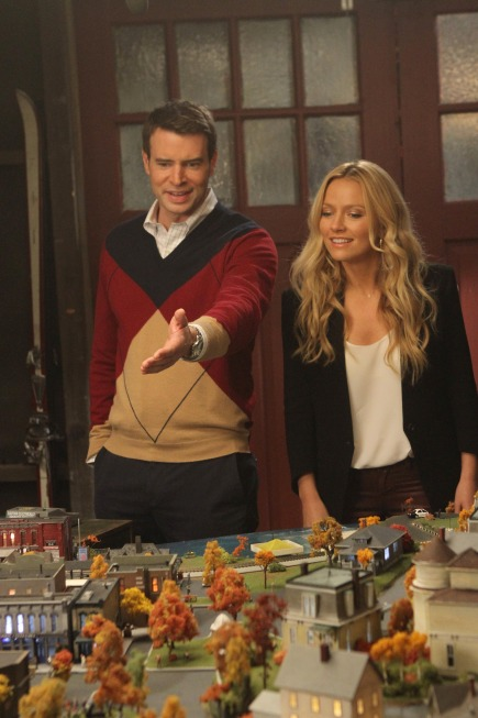 """Scott Foley and Becki Newton in The Goodwin Games """"Small Town"""""""