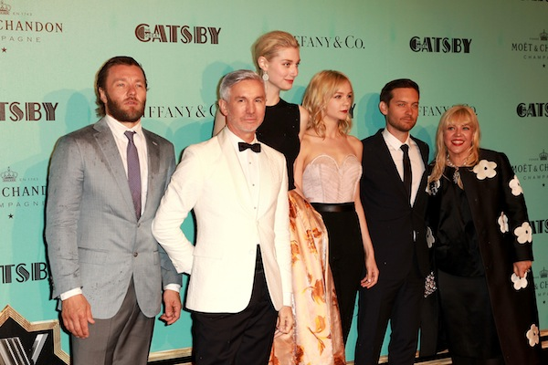 The Gatsby's stars at the Sydney premiere
