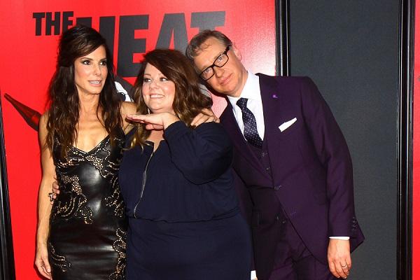 Sandra Bullock, Melissa McCarthy, Paul Feig, The Heat premiere