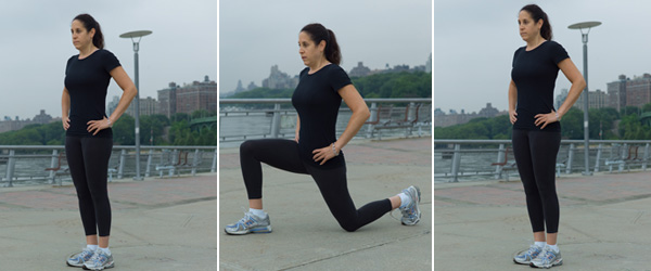 Image result for Lunges WOMEN