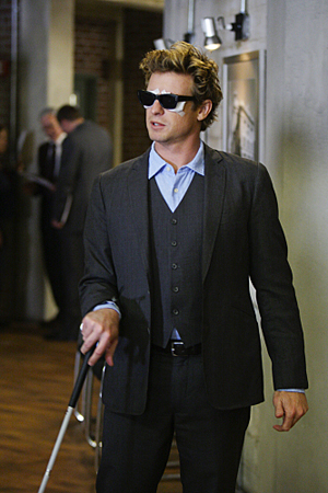 The Mentalist goes blind