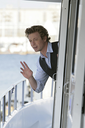 Simon Baker goes mental for The Mentalist