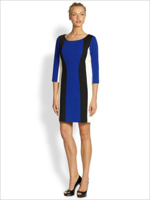 classic shift dress for petite body type