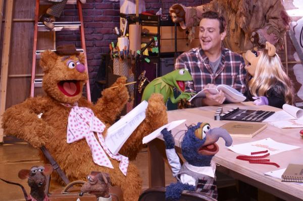 Jason Segel and The Muppets