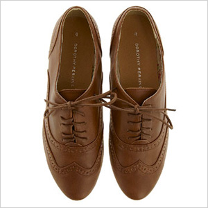 Lace up oxfords