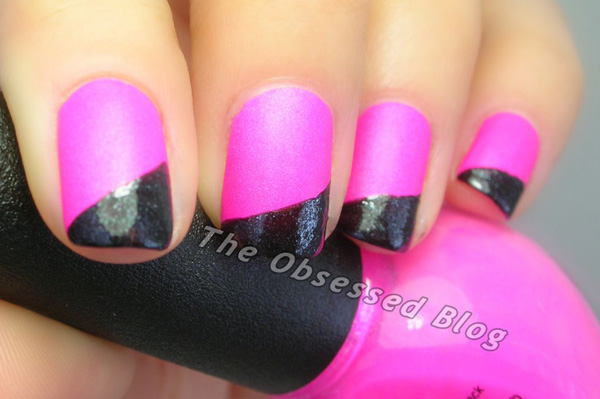 nail art from The Obsessed nail blog