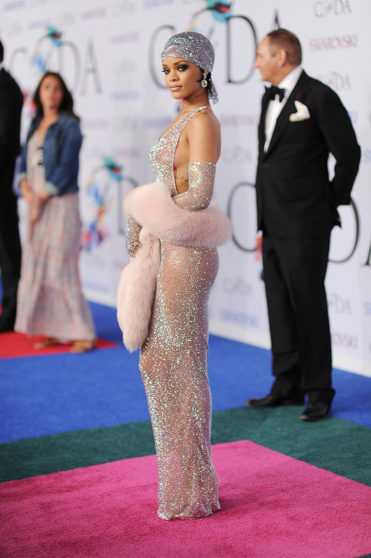 Rihanna at the 2014 CFDA