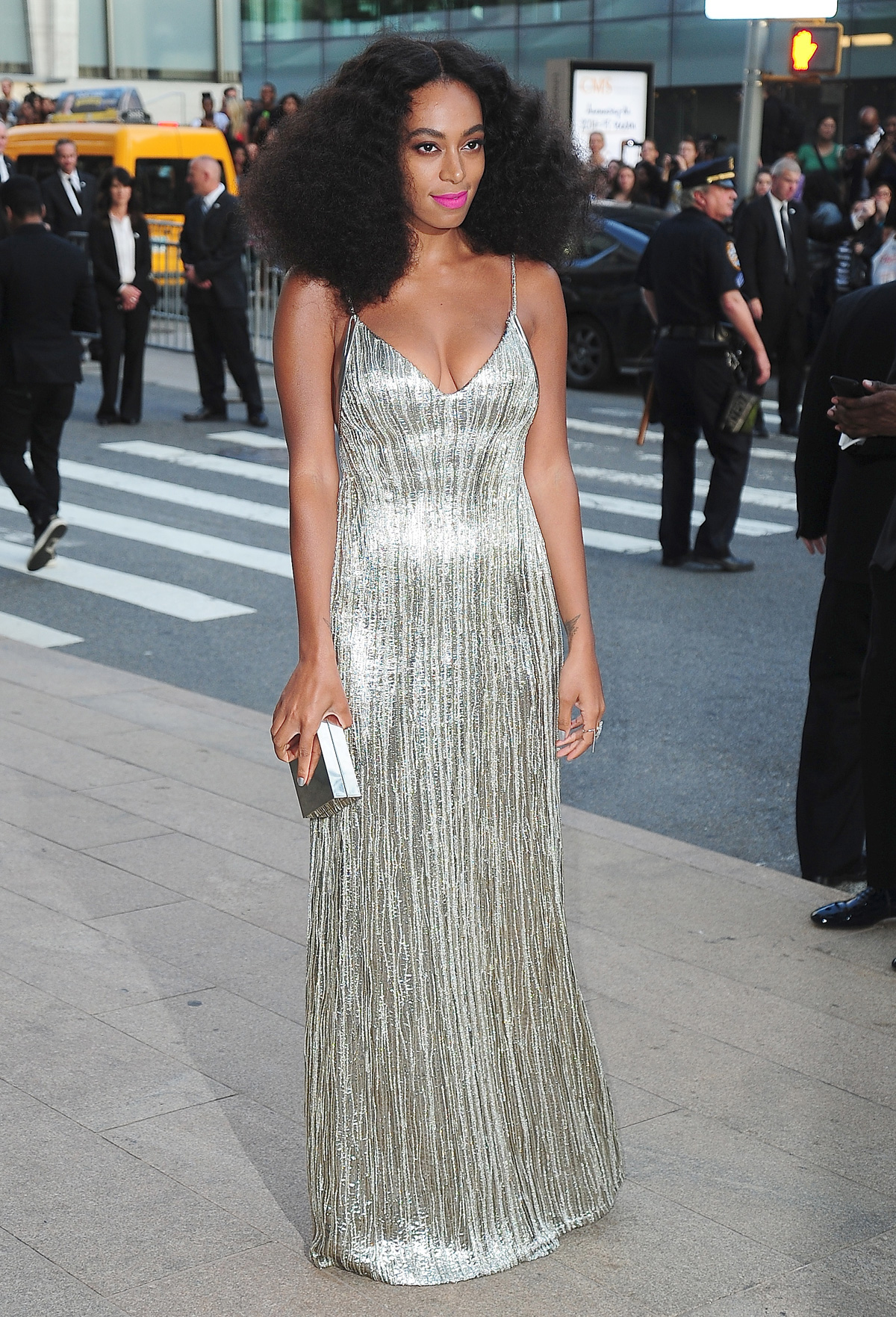 Solange at the 2014 CFDA