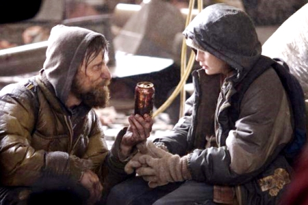 Viggo Mortensen and Kodi Smit-McPhee in Cormac McCarthy's The Road