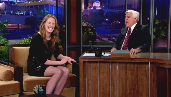Jay Leno on The Tonight Show