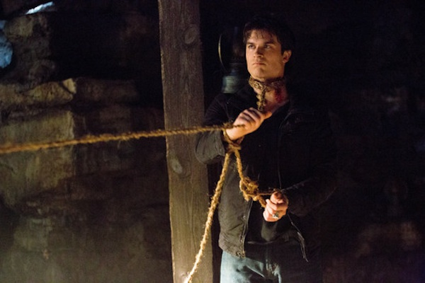 Damon held captive by Vaughn