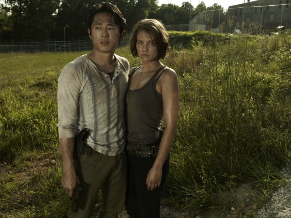 The Walking Dead - Maggie and Glen