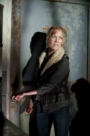 "Laurie Holden as Andrea in The Walking Dead season 3 episode 14 ""Prey"""