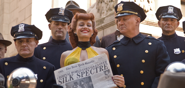 Carla Gugino makes news in The Watchmen