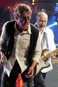 The Who's Roger Daltry and Pete Townshend
