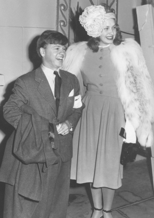 Mickey Rooney and Betty Jane Baker