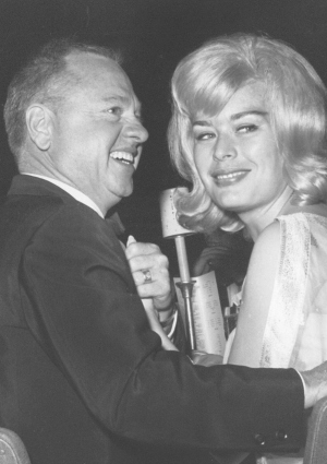 Mickey Rooney and Carolyn Mitchell