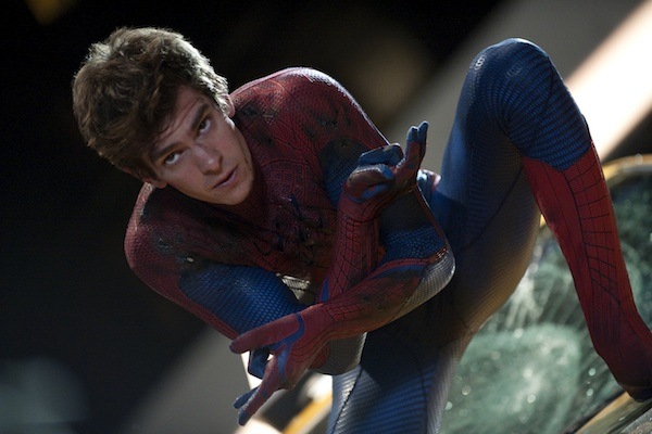 The Amazing Spider-Man in red suit