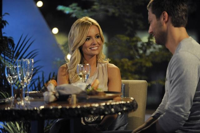 the bachelorette emily maynard dinner