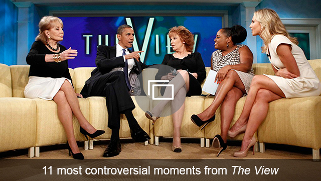 The View controversial moments slideshow