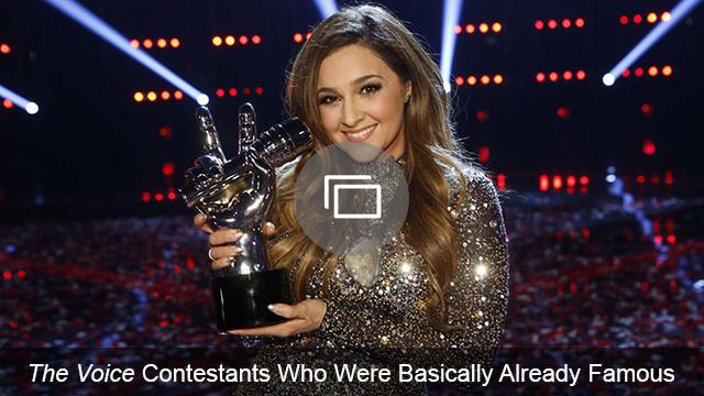 The Voice contestants famous families slideshow