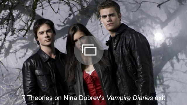 theories nina dobrev vampire diaries exit slideshow