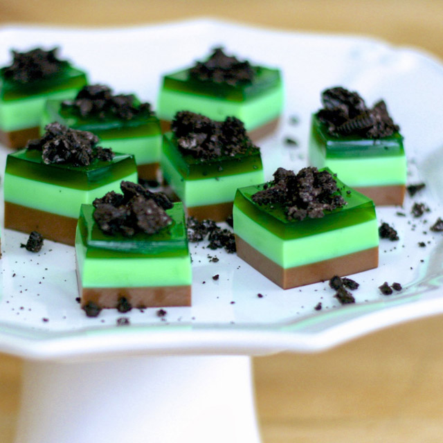thin mints jello shots
